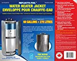 HOT WATER TANK HEATER INSULATION JACKET DIY 'PREMIUM' KIT: ENERGY SAVING REFLECTIVE FOIL FITS 50 & 60 GALLON WATER TANKS. MANUFACTURER OF THIS KIT FOR 27 YEARS. EXCLUSIVELY SOLD BY 'JR GLOBAL SALES'