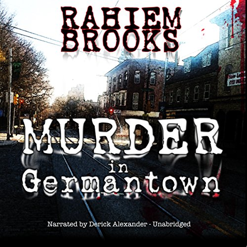 Murder in Germantown audiobook cover art