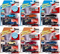 COLLECTOR'S TIN 2020 RELEASE 3, SET OF 6 CARS 1/64 BY JOHNNY LIGHTNING JLCT005 海外