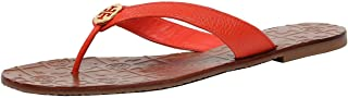 Tory Burch Womens 11168620 Patent Leather Magenta Terra Thong Sandal