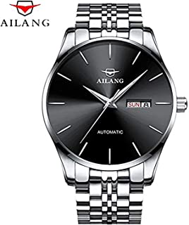 WhatsWatch AILANG Mens Watches Top Brand Luxury Sapphire Fashion Mechanical Watch Men Simple Business Casual Luminous