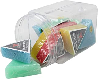 Dime Bag Hardware Triple Slick Skateboard Curb Wax 12 Pack of Scented Skate Wax