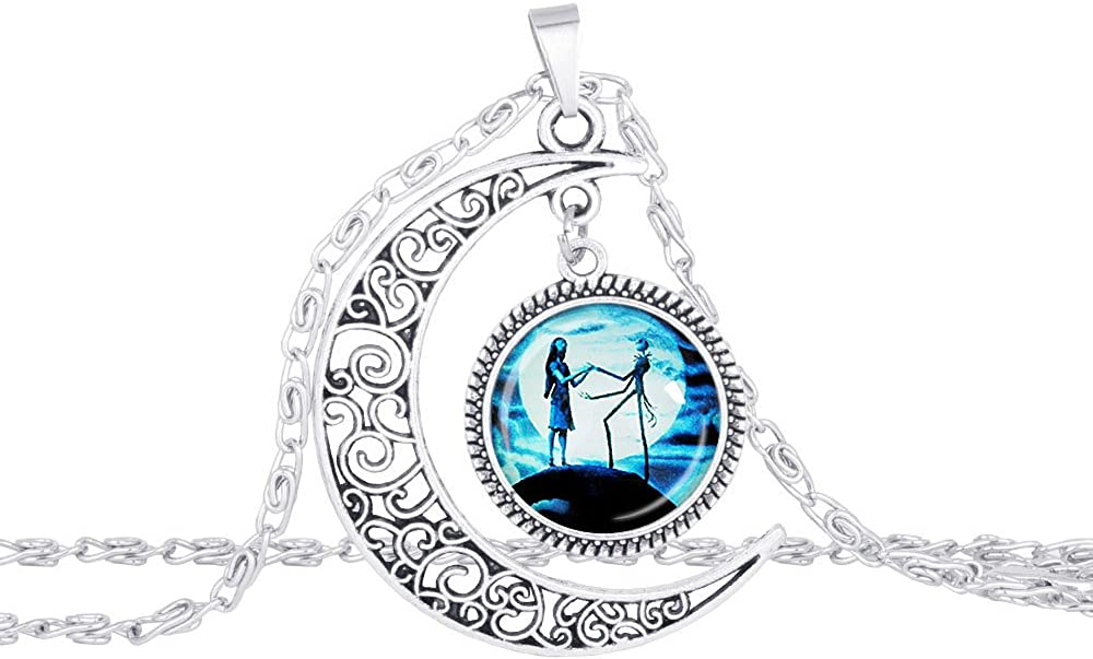 UBBC Variety of Style Charm Crescent Moon Pendant Great for His and Hers Love Gift