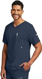 Grey's Anatomy Men's 0107 Modern Fit V-Neck Scrub Top