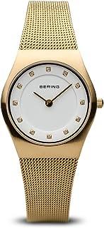 Bering 丹麦品牌 经典系列 时尚潮流超薄防水女表 镶钻钢带超薄女表