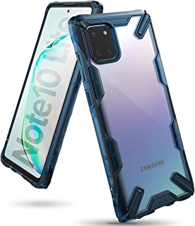 Ringke Case for Galaxy Note 10 Lite Cover Hard Back Cover Fusion-X Ergonomic Transparent Shock Absorption TPU Bumper (Comp...
