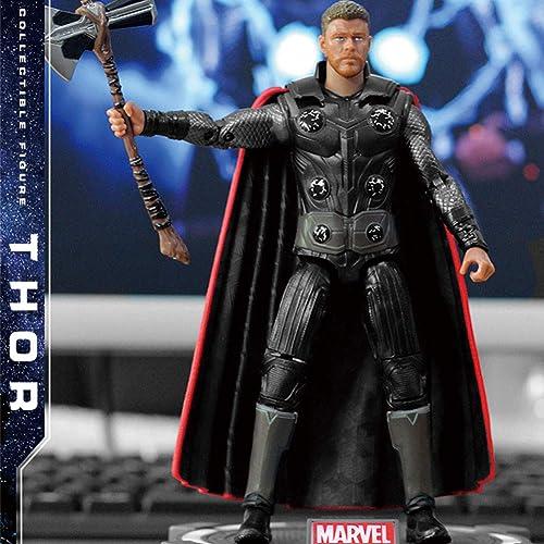 alta calidad Wild MD Figuras Marvel Avengers Titan Hero Power Power Power Power Figuras De Acción Móviles con Articulación Thor con Soporte Y Base De Iluminación Thor  costo real