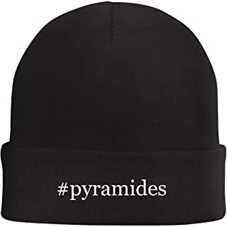 Tracy Gifts #Pyramides - Hashtag Beanie Skull Cap with Fleece Liner