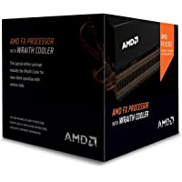 AMD CPU FX-8350 Black Edition 4.0 GHz Desktop Processor with AMD Wraith Cooler