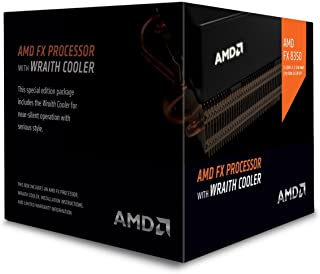 AMD FX 8-Core Black Edition FX-8350 Processor with Wraith Cooler (FD8350FRHKHBX)