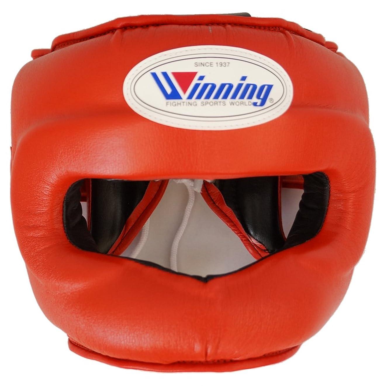 歩くオフ素子【Winning/ウイニング】 ヘッドギア フルフェイスタイプ ボクシング ウイニング プロテクター boxing headgear