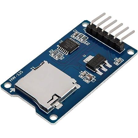AZDelivery SPI Reader lector de tarjeta SD TF modulo memory card shield compatible con Arduino con E-Book incluido!