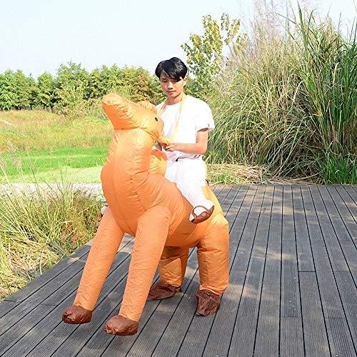 Sunny Disfraz de Halloween Inflable Disfraz de Camello, Disfraz de Cosplay, Novedad Divertida para Halloween y Juegos de Fiesta