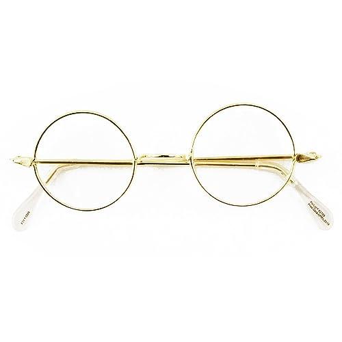 12f084aac0 Round Wire Rim Glasses Costume Accessory