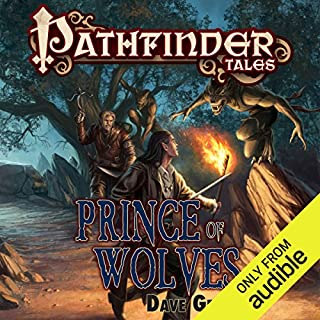 Prince of Wolves audiobook cover art