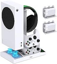 Ventilador de refrigeração atualizado com suporte de carregamento para console e controlador Xbox Series S, acessórios de ...