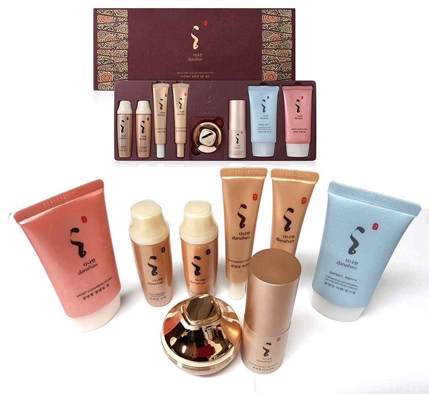依存ウェイトレス損失[DANAHAN] スキンケアコレクションギフト8本セット/ Skin Care Collection gift 8pcs set/モイスチャー、ハーバルフルイド/Moisture, herbal fluidn/韓国化粧品/Korean Cosmetics [並行輸入品]