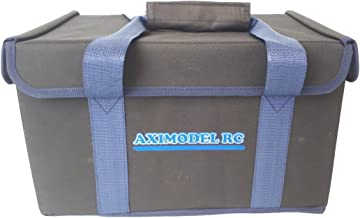 Upgraded RC Car Bag for RC 1/16, 1/18 Cars. incl Traxxas 1/16 Revo, Summit, Latrax 1/18 Teton, SST. Dromida 1/18 Scale. Easily store or transport your RC Car in this bag! Hard Wall, Bottom & Top!