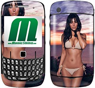 MusicSkins MS-KARD10044 Screen protector BlackBerry Curve (8520/8530) Kim Kardashian - Bikini
