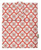 Funda para libro electrónico con tapa de libro para Paperback, Washable Fabric, Book Protector- Padded, Tablet PC Case Cover para Adultos (Flower)