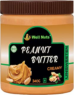 Well Nuts Natural Peanut Butter Creamy - 340g