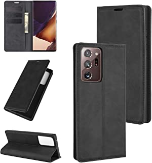 Premium PU Leather Flip Folio Case for Samsung Galaxy Note 20 Ultra(5G), Protective Case with Kickstand Card Slot Magnetic...