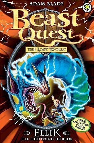 The Lost World Series 7: Ellik the Lightning Horror (Beast Quest) by Blade, Adam (2014) Paperback