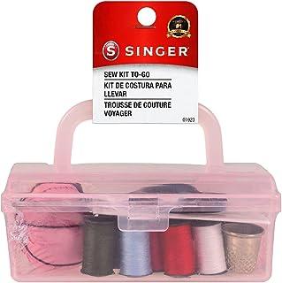 Kit de costura caixa de ferramentas SINGER 01923, 7 cm e 4,5 cm