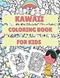 Kawaii Coloring Book For Kids: Gift Idea For Toddlers With Cute Kawaii Cats, Foods, Desserts, Animals And More!
