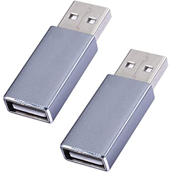 USB Data Blocker -100% Guaranteed Prevent Hacker Attack.Any Other USB Device Charging,USB Data Blocker (Grey)