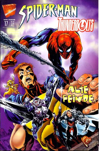 Marvel Crossover 17 Spider-Man Thunderbolts , 27.1.2000, Marvel DC Crossover. Panini Marvel Comics.