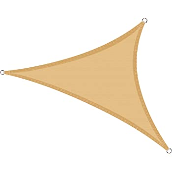 LOVE STORY Toldo Vela de Sombra Impermeable(PES) Triangular 3×3×3m ...