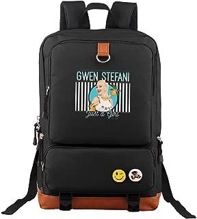 Gwen Stefani Unisex Laptop Backpack Travel Backpack Bookbag School Backpack Stylish Vintage Backpack Computer Backpacks Work Backpack