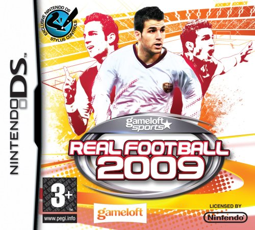REAL FOOTBALL 2009 / JUEGO SOLO CARTUCHO - Nintendo DS EN ESPANOL MULTI-IDIOMAS (compatibles DS LITE-DSI-3DS-2DS-XL-NEW)