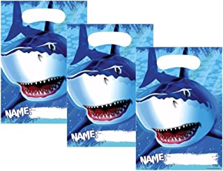 Creative Converting, inc., Cool Shark Splash Birthday Party Favor Bags 24 Guests