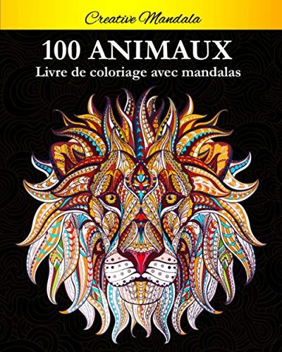 Coloriage de Mandalas animaux pour adulte