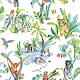 Arthouse 696008 Jungle Mania - Papel pintado, 53 cm x 10,05 m