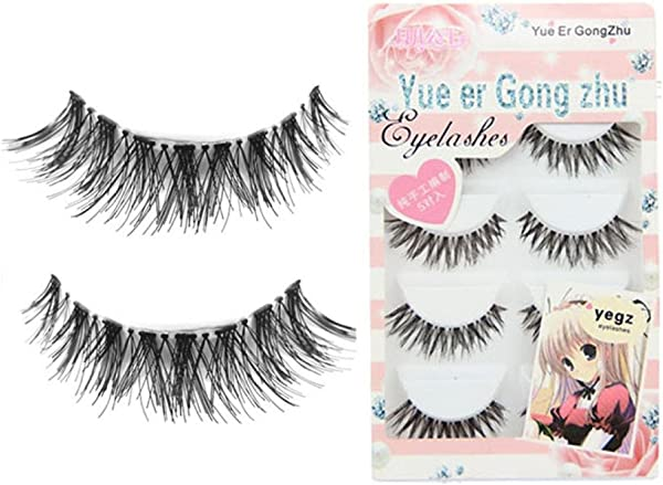 BEAUTYVAN Big Sale False Eyelashes Fashion 5 Pair Lot Crisscross False Eyelashes Lashes Voluminous HOT Eye Lashes