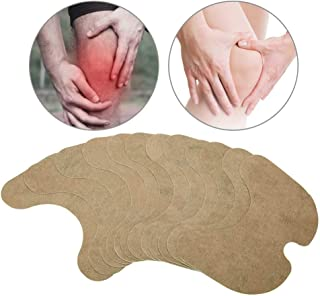 Moxibustion Thermal Peg for Knee, 12 Pcs Self-Heating Natural Wormwood Sticker, Chinese Medicine Acupuncture Treatment Patch Rapid Knee Warmer Rheumatoid Arthritis Self Heating Warmer Warm Knee