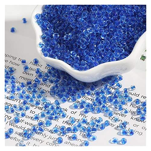 Cuentas espaciadoras 2 3 4 mm 150-1000pcs Color de mezcla Pequeñas cuentas de semillas de cristal de cristal checo sueltas Perlas espaciadoras sueltas para niños DIY Joyería haciendo accesorios Hecho