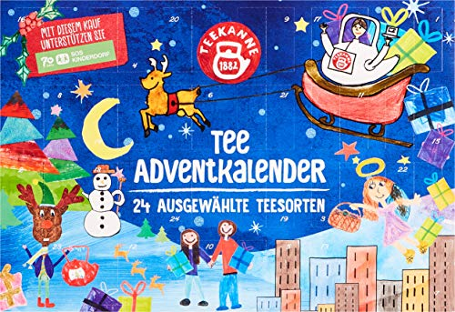 Teekanne Österreich Adventkalender Tee, 375 g