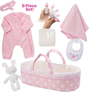 """Adora Adoption Baby Essentials """"It's a Girl"""" 16 Inch Girl Clothing Toy Gift Set for 3 Year Old Kids and up"""