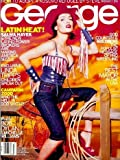 George Magazine - July 1999: Salma Hayek, Goldberg, Bob Dylan, & More