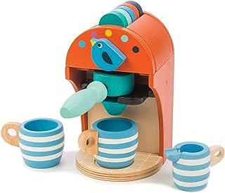 tender leaf toys 木製 キッチンウェアセット エスプレッソマシーン かわいいイギリスデザインのキッチン用品セット おままごと キッチングッズ おもちゃ ごっこ遊び 男の子 女の子
