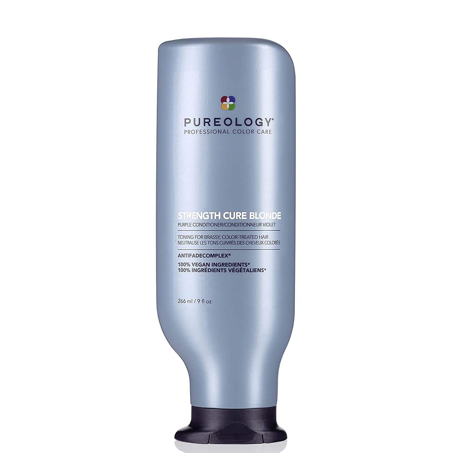 Pureology Strength Cure Blonde Purple Conditioner for Blonde & Lightened Color-Treated Hair, 9 Fl Oz: Premium Beauty