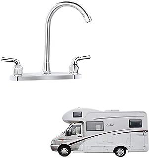 RV Non-metallic Kitchen Faucet Two Handle-8
