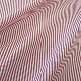 Stoff Meterware Bauernstreifen rot weiß Streifen 4 mm