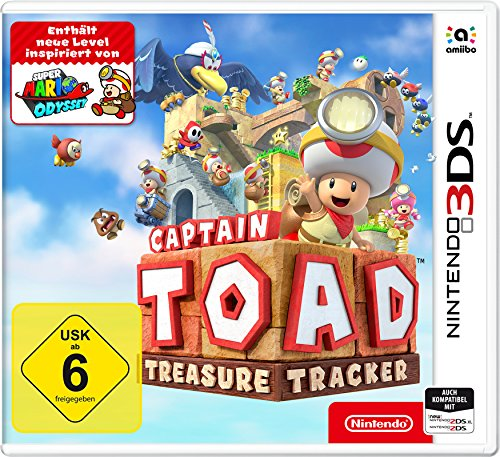 Captain Toad: Treasure Tracker - Nintendo 3DS [Edizione: Germania]