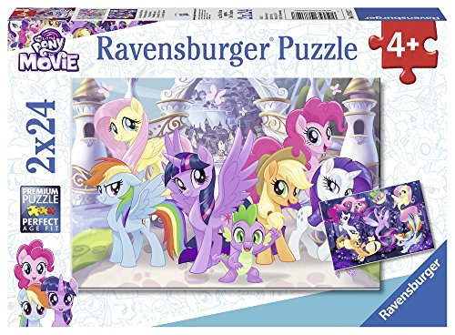 Ravensburger Italy- Puzzle My Little Pony, Multicolore, 07812 7