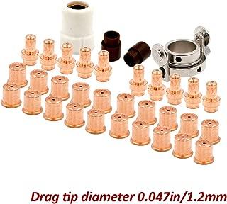 Electrode Drag Tip Kit for Eastwood Versa-Cut 40amp Cutter CB50 Torch Plasma Arc Cutting Consumables 34pcs